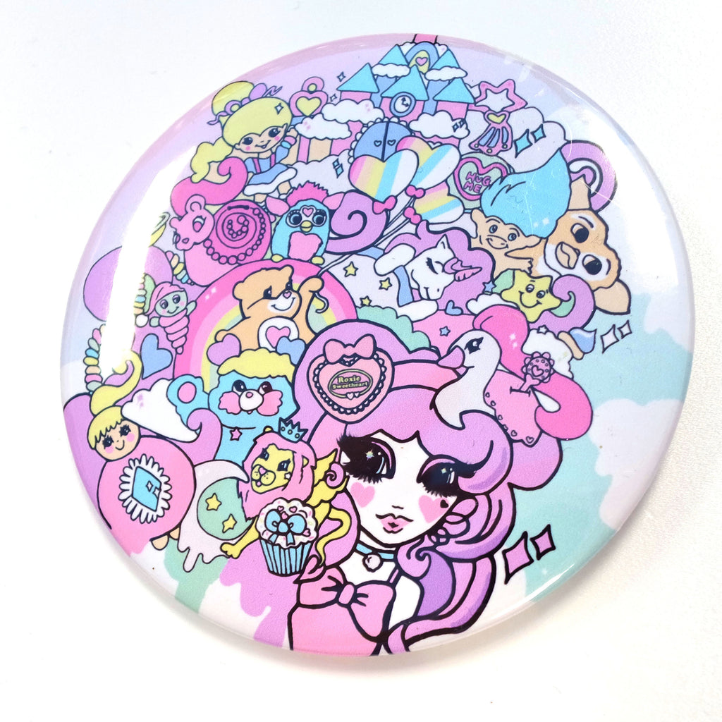 Sugar Coated Dreams Giant Pin Badge