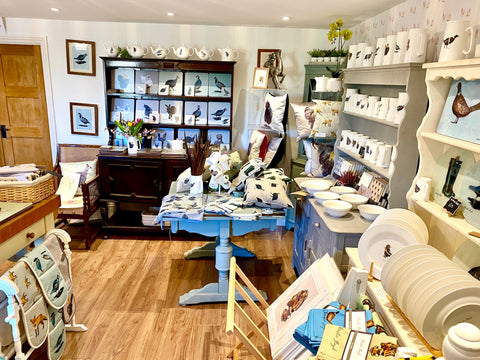 Interior of our shop at Manor Barns | Christie Lloyd
