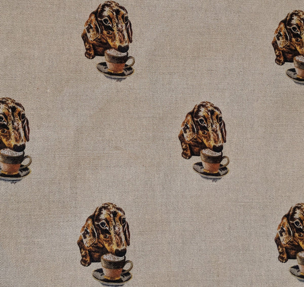Puppuccino 100% Cotton Fabric