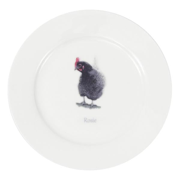 Rosie Hen Dinner Plate (OOS Please allow 6-8 weeks)