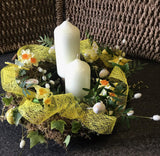 Easter Wreath Workshop Tuesday 16th April 7pm til approx 9.30pm