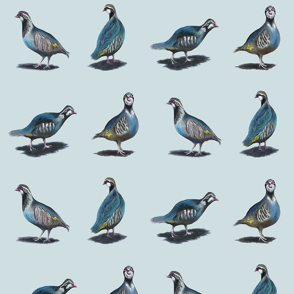 Glorious Partridges Wallpaper
