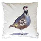 Fifi Partridge Velvet Cushion