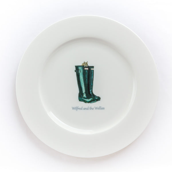 Wilfred Mouse Dinner Plate