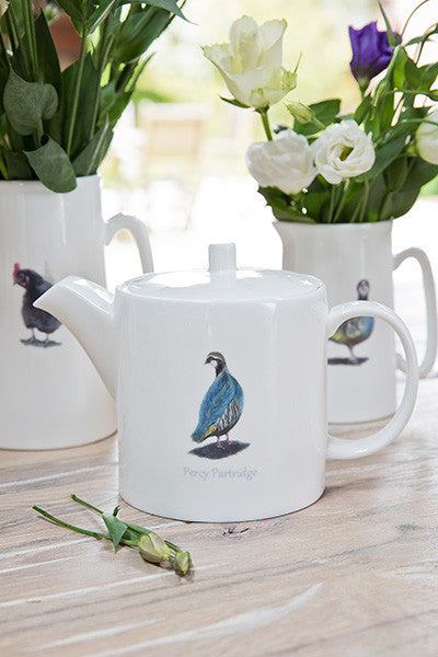 Percy Partridge Teapots