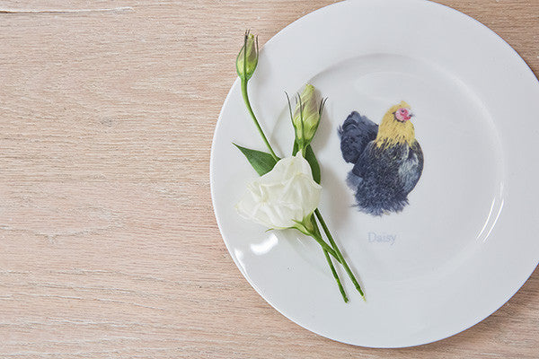 Daisy Hen Tea Plate - Out of Stock (4-6 week wait)