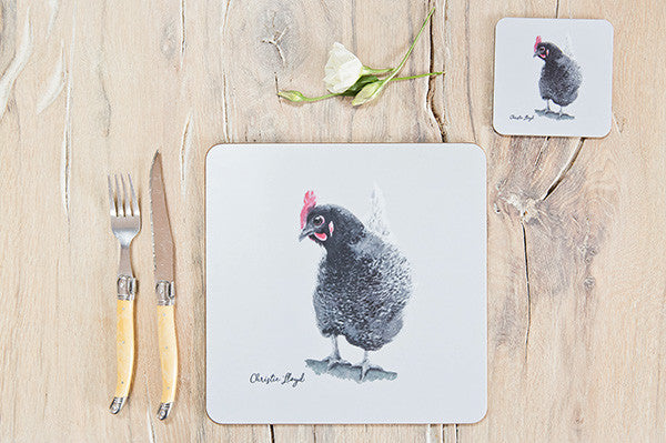 Rosie Hen Table Mat