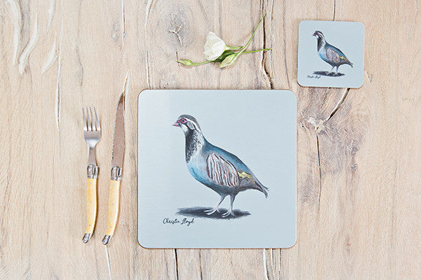 Maria Partridge Table Mat