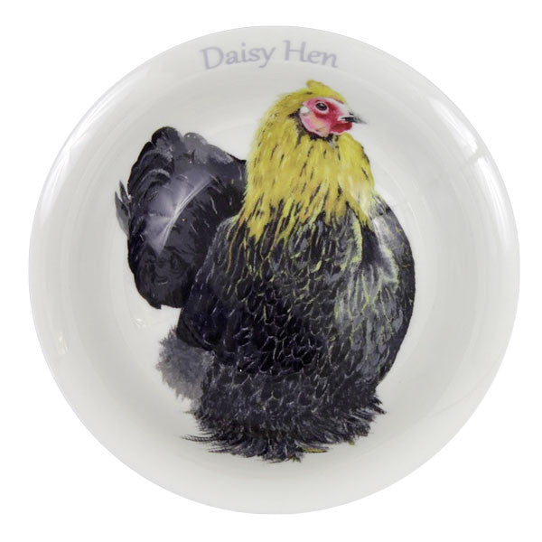 Daisy Hen Serving Bowl