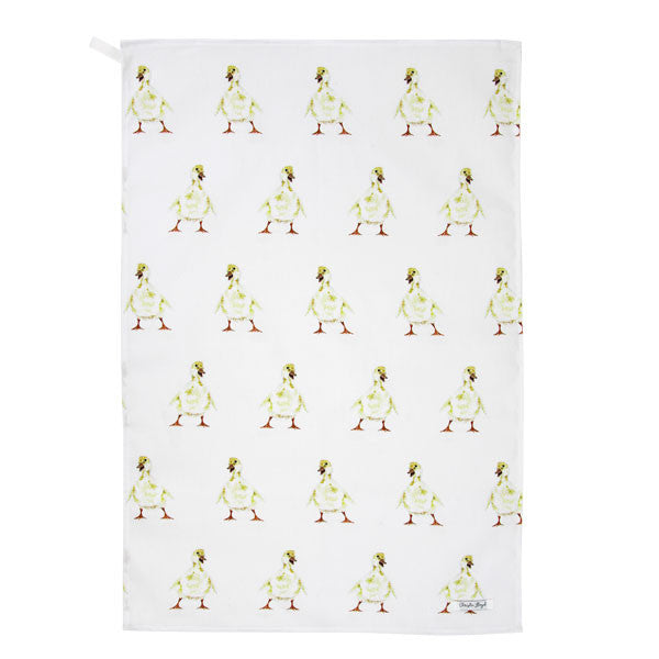 Doris Duckling Tea Towel