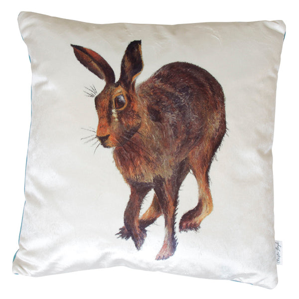 Harold Hare Velvet Cushion