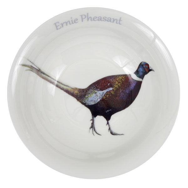 Ernie Pheasant Serving Bowl