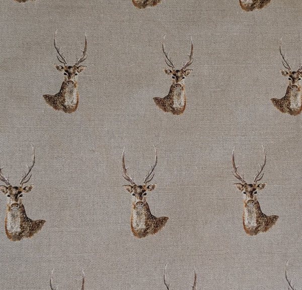 Samson Stag 100% Cotton Fabric
