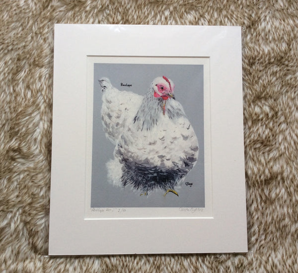 Penelope Hen Limited Edition Print