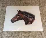 Smithy Horse Limited Edition Print