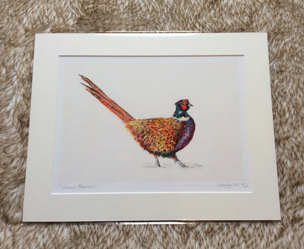 Edward Pheasant Limited Edition Print