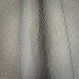 Daisy Grey Linen Fabric