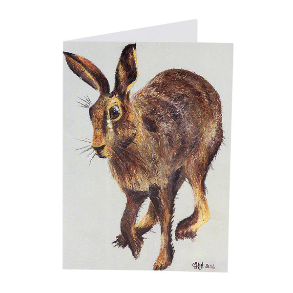 Harold Hare Greetings Card