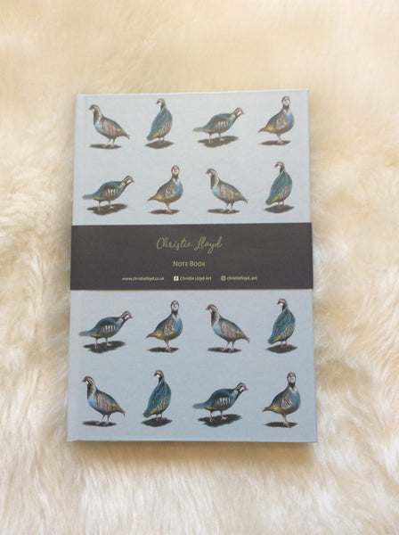 Glorious Partridges Note Book