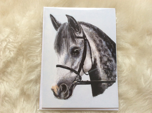 Squire Greetings Card
