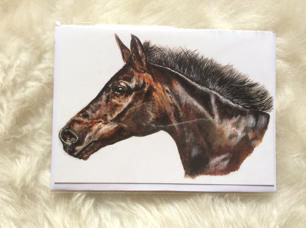 Smithy Horse Greetings Card