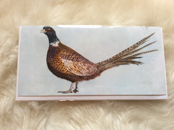 William Pheasant Greetings Card