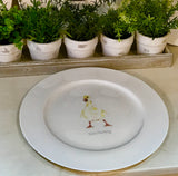 Doris Duckling Dinner Plate