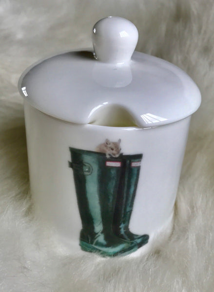 Wilfred Mouse Jam Pot