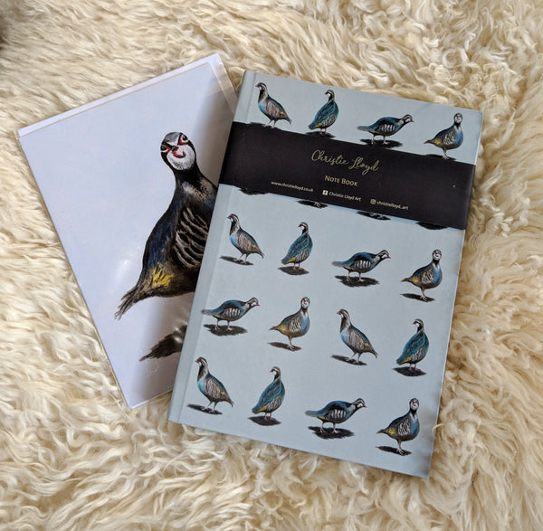 Mother's Day Partridges Note Book Gift Set