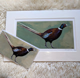Mother's Day Ernie Pheasant Limited Edition Print Gift Set