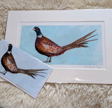 William Pheasant Limited Edition Print Gift Set