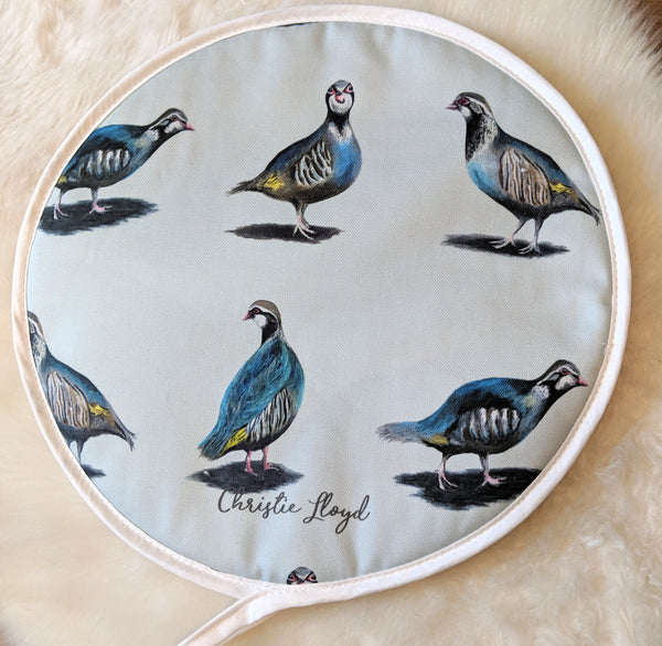 Glorious Partridges Hob Covers