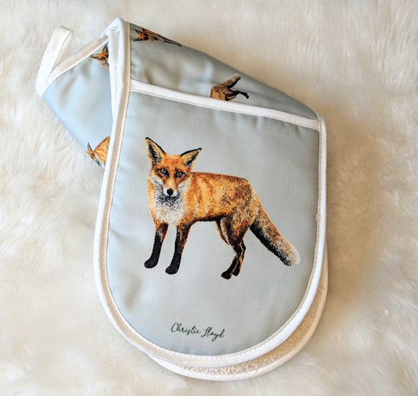 Sylvester Fox Double Oven Gloves