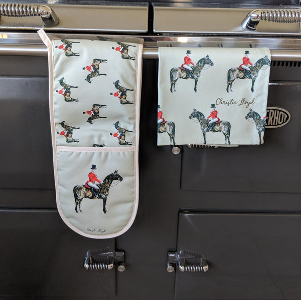 Field Master Oven Gloves & Tea Towel Set