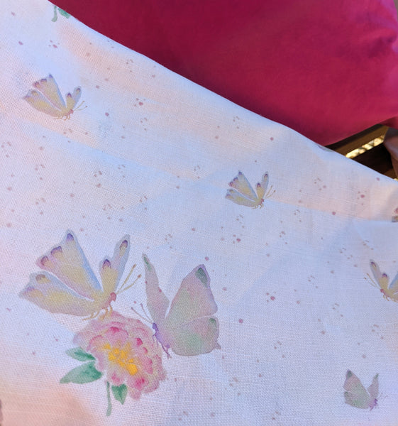 Festival Butterflies 100% Organic Cotton Fabric
