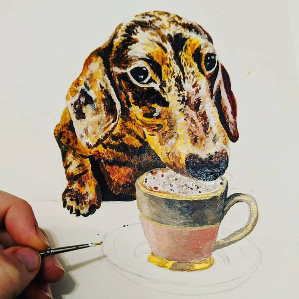 Learn to Paint your Pet Workshop - Thursday 8th October