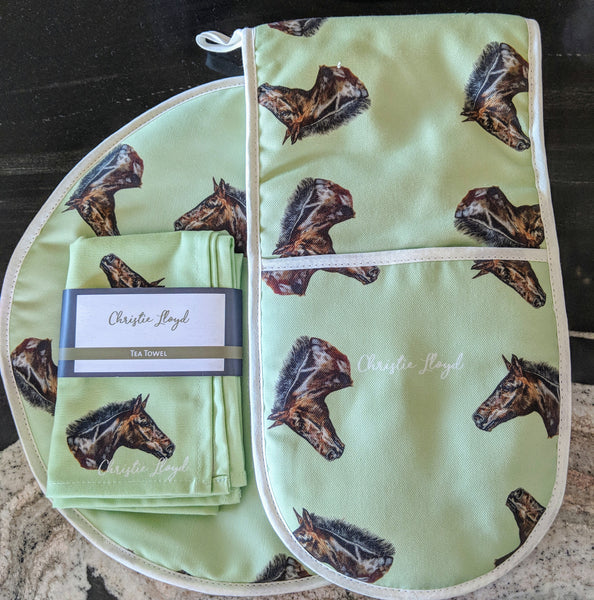 Smithy Horse Kitchen Textiles Gift Set