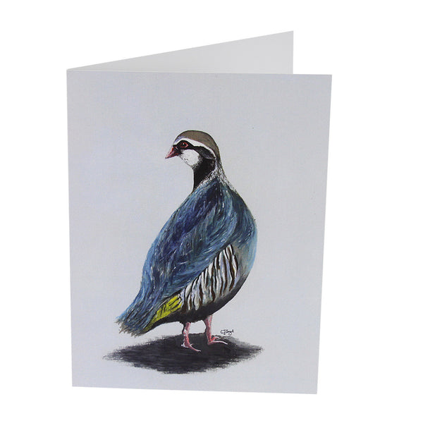 Percy Partridge Greetings Card
