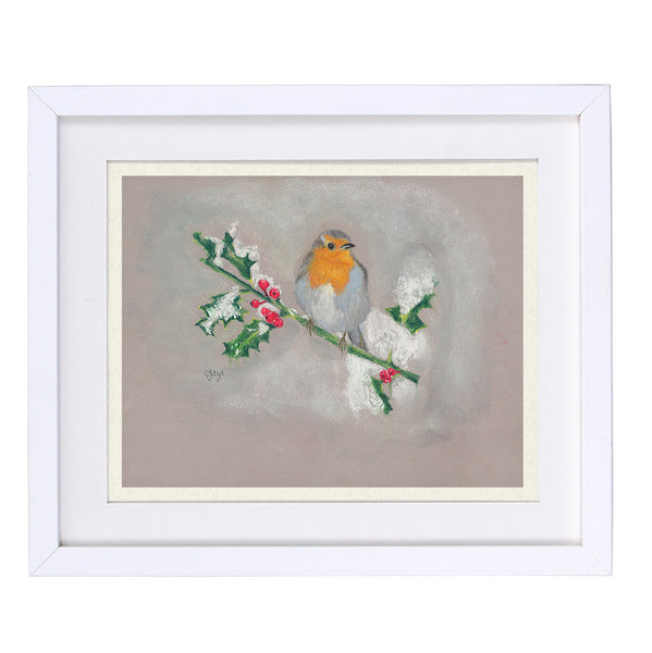 Bobby Robin Framed Prints
