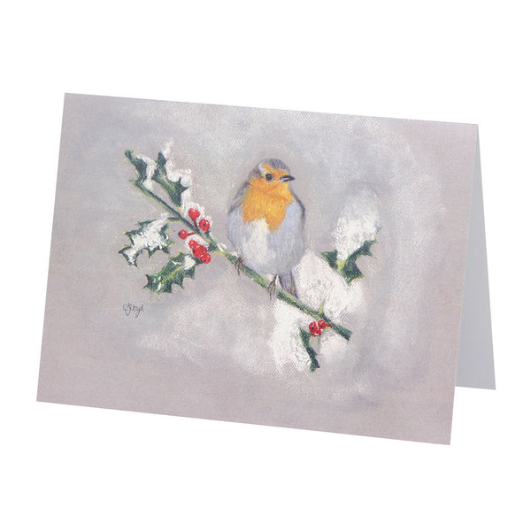 Bobby Robin Greetings Card