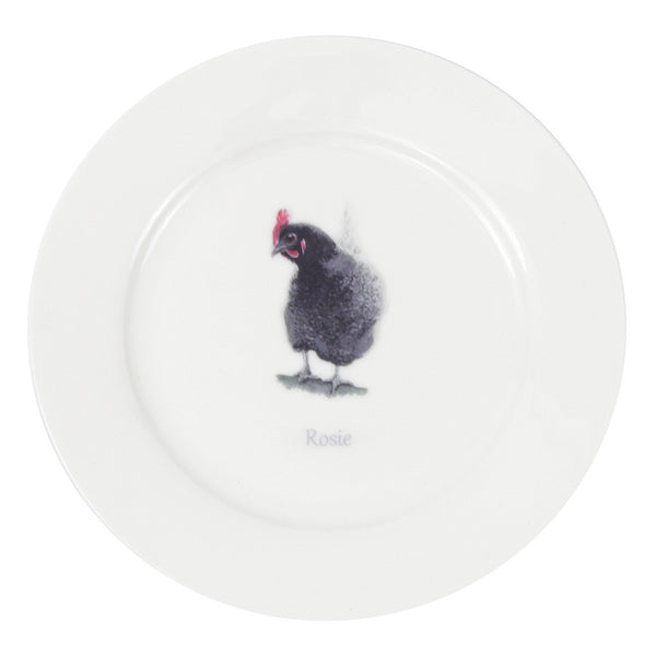 Rosie Hen Tea Plate - Out of Stock (Please allow 6-8 weeks)
