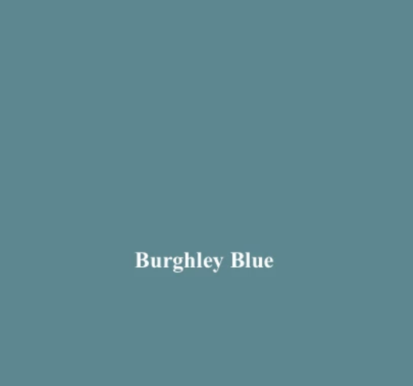 Burghley Blue 100% Cotton Fabric