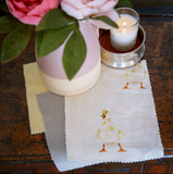 Doris Duckling Linen Fabric