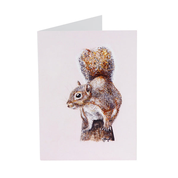 Cyril Squirrel Greetings Card
