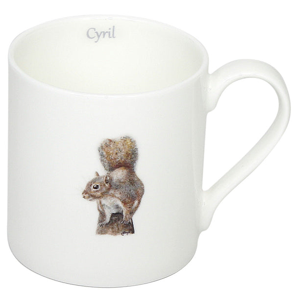 Cyril Squirrel Mugs