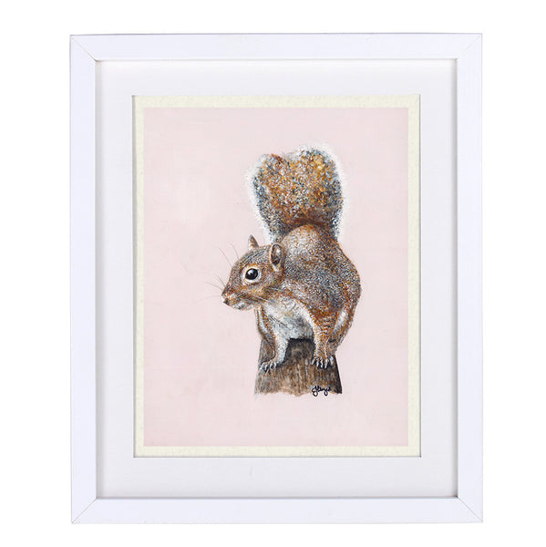 Cyril Squirrel Framed Prints