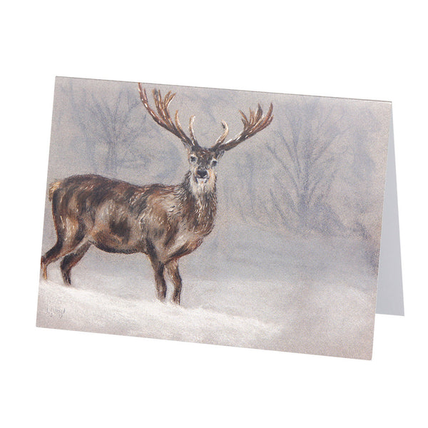 Stanley Stag Greetings Card