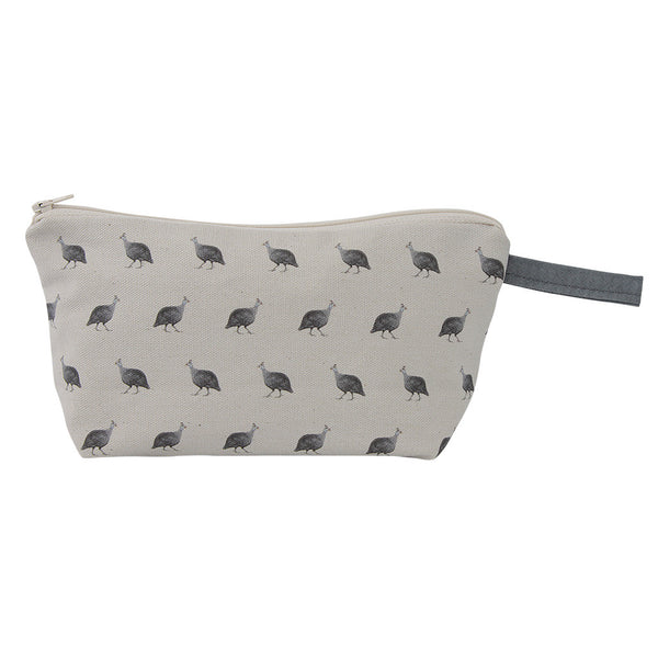 Violet Guinea Fowl Wash Bag