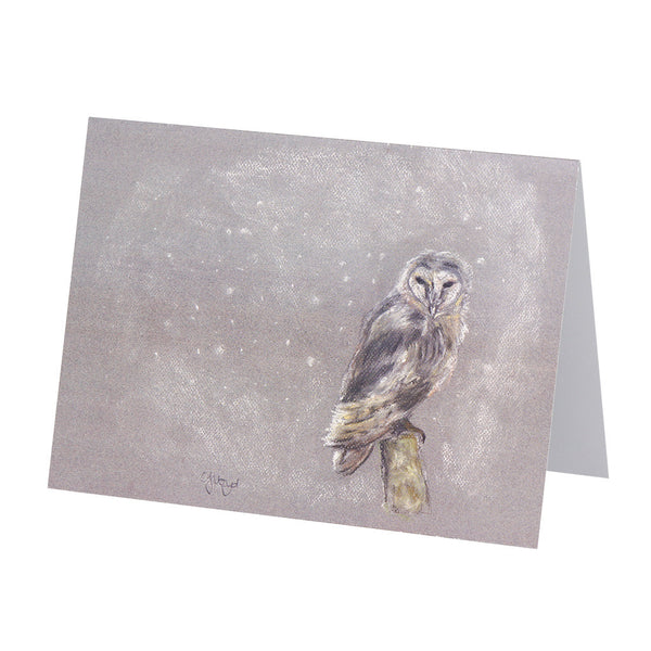 Arthur Barn Owl Greetings Card