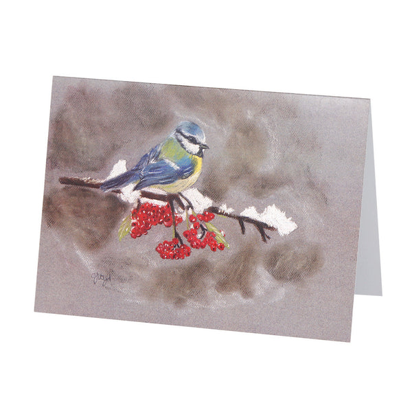 Timmy Blue Tit Greetings Card